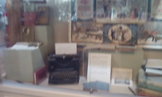 James Whitcomb Riley Exhibit