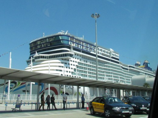 A photo of the Epic Norwegian Cruise Line we sailed on.