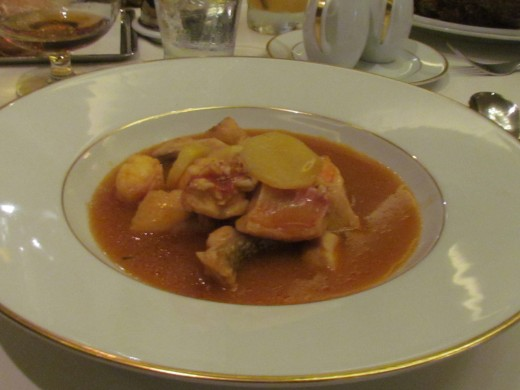 I had the Mediterranean Stew of Fish and Lobster in Saffron Broth. It was delectable as well. We wanted the best restaurant for our 30th wedding anniversary celebration.