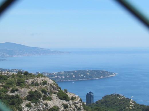 Beautiful shoreline areas near Monte Carlo.