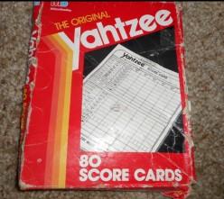 Yahtzee: Grandma Taught Me What She Knew