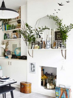 10 Out of the Box Ideas to Use Shelf Brackets