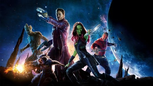 """Guardians of the Galaxy"" (2014) - The latest blockbuster now available for instant streaming on Netflix (instant)"