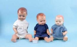 Hard plastic dolls for sale on: vectis.co.uk/