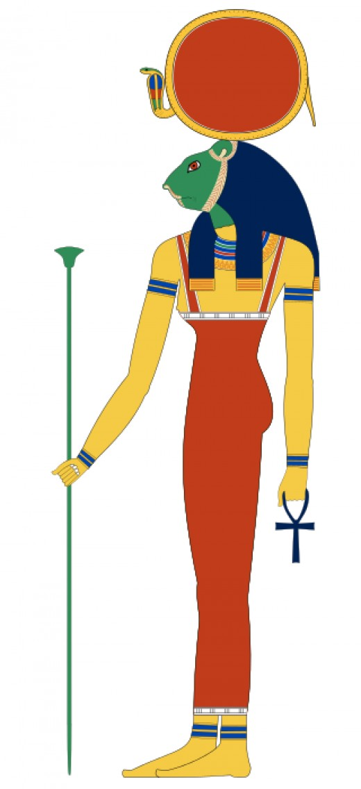Goddess Sekhmet By Jeff Dahl GFDL
