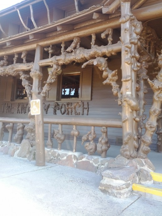 The Knotty Porch, Old Faithful
