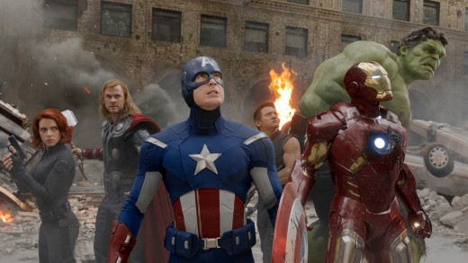 Marvel's The Avengers (2012) - the film that brings together all of Marvel's best and most current characters to fight evil together, and with Hulk, Thor, Captain America and Iron Man in the team they really are a force to be reckoned with.