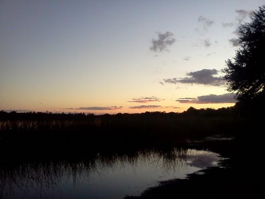 Another beautiful Florida sunset.