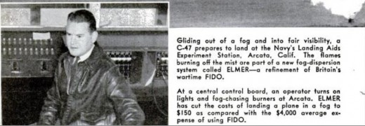 ELMER, a new improved FIDO project from a Google photo from excerpt of Popular Science magazine from Jan 1946.