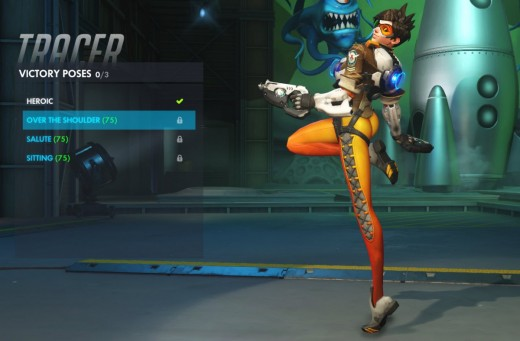 Tracer's redone victory pose