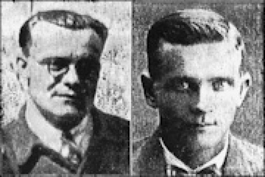 Vilijo Rosvall and John Voutilainen
