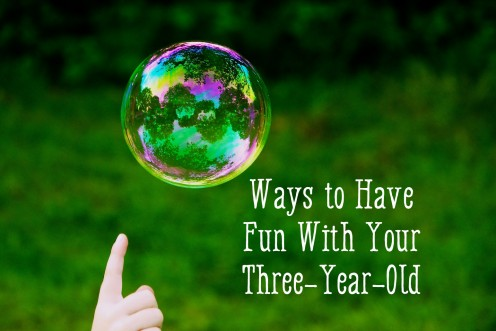 Activities to Do With Three-Year-Olds