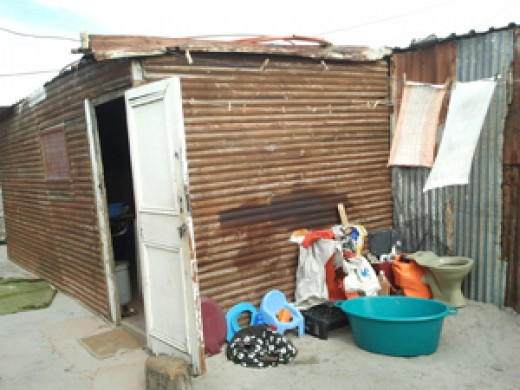 A Habitat For The People  Who Are Poor In Mzantsi..