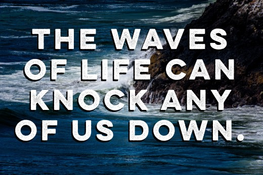 """""""We are all swimming to the top on this ocean called life"""""""