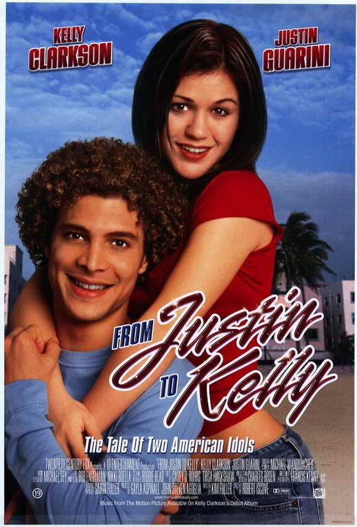 From Justin to Kelly movie poster. Property of 20th Century Fox film Cooperation and 19 Entertainment.