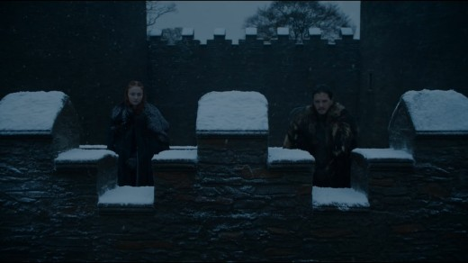 """There's a wall between us."" -Jon"