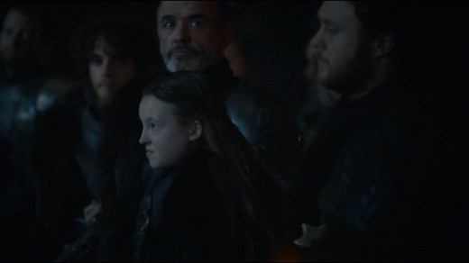 Lyanna's stankface makes an appearance, and it's delightful, as always.