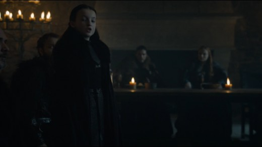 """Y'all need to get your shit together."" -Lyanna Mormont, Pillar of the North, Lady of Bear Island, Queen of Sneers, Namer of Kings"