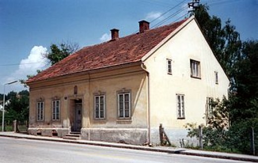 House where Hitler grew up as a child