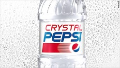 Crystal Pepsi is coming back! Who's excited?