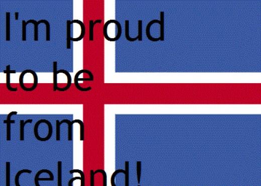 Icelandic pride.