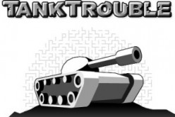 Tank Trouble SWF - an online war-based gun game