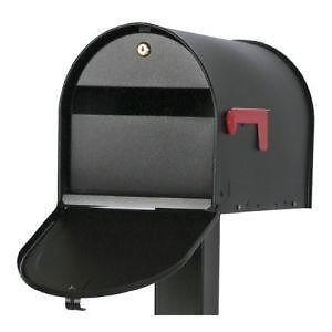 A typical mailbox locking insert