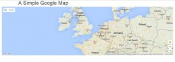 Adding a simple google map to your website