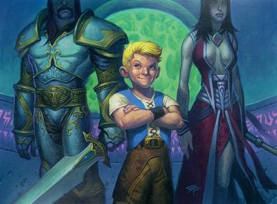 Anduin as a boy