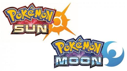 Pokemon Sun and Pokemon Moon Logos