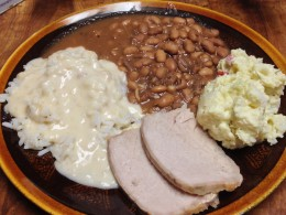 Pork Loin Dinner- Selenium can be found in lean meats, such as pork loin