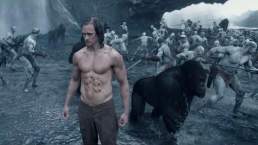 Tarzan his natural habitat.