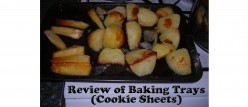 My Set of 3 Non-stick Baking Trays or Cookie Sheets - Review