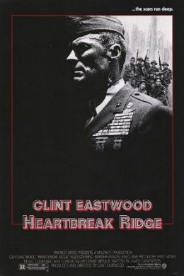 Theatrical Poster for Heartbreak Ridge