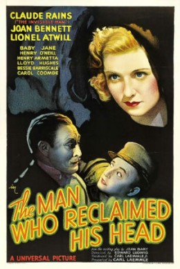 Theatrical Release Poster for The Man Who Reclaimed His Head