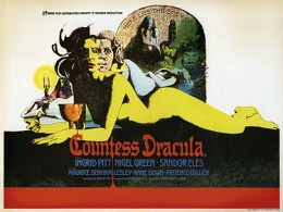 Theatrical Release poster for Countess Dracula