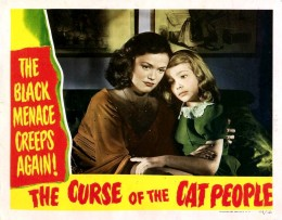 Theatrical Release poster of The Curse of the Cat People.