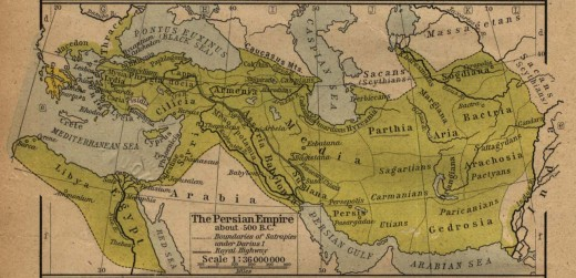 The Zoroastrian Achaemenid Empire.