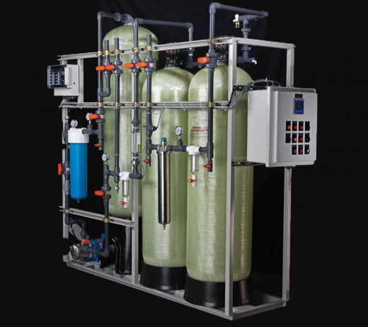 Industrial water purification