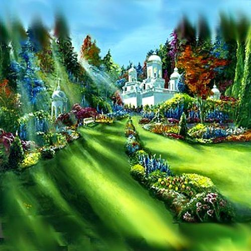 Akiane Kramarik painted this vision of Heaven when she was just 12 years old.  Read more about her amazing talent at the link below...