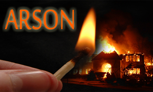 Arson is a Crime