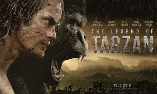 Film poster for The Legend of Tarzan