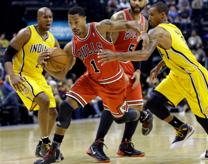 Rose splits the defense