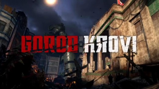 Intro title from Nicholai trailer for Gorod Krovi Zombies.