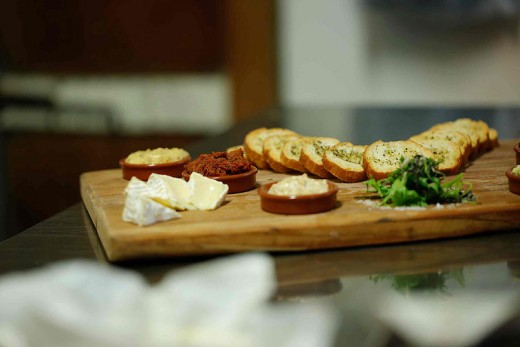 A Cheese Board from Chateaubriant, A French Style Deli and Cafe, Devonport, Auckland