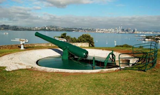 North Head Disappearing Gun, Devonport, Auckland