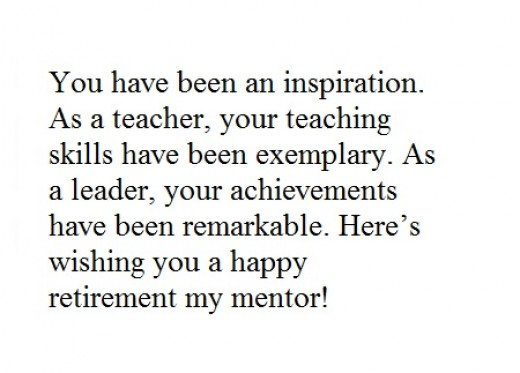 Retirement Messages for Teachers and Mentors ― Funny Quotes and ...