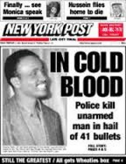 Will the cold blood murder of black men by the police ever end?