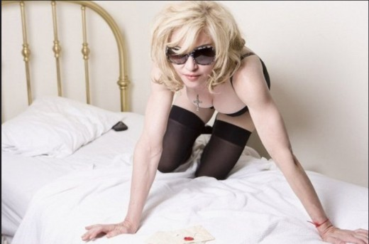 Well into her fifties, Madonna is still presenting a super-sexed version of herself...with mixed results.