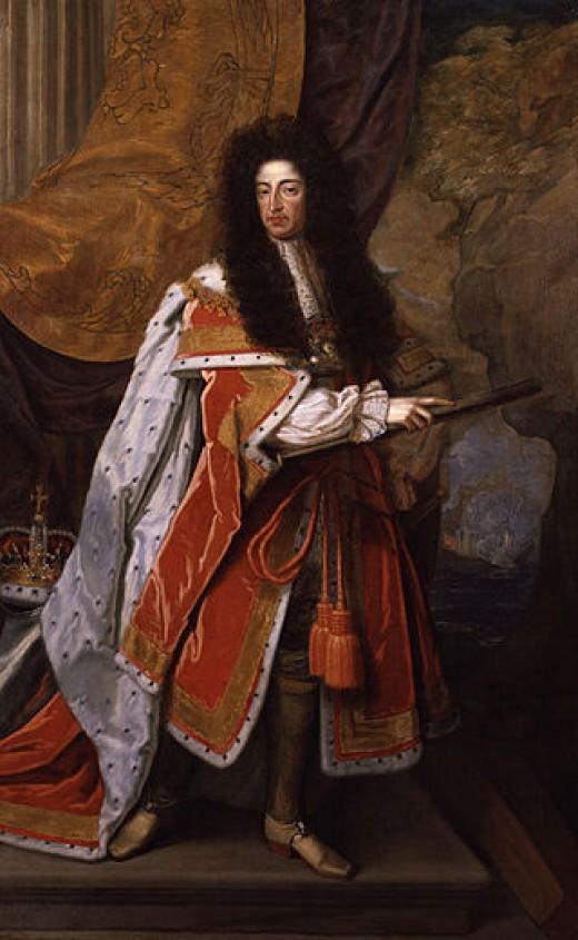 William of Orange in about 1690.